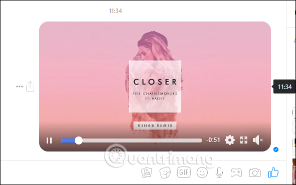 Hiển thị video