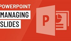 Quản lý các slide trong PowerPoint 2016