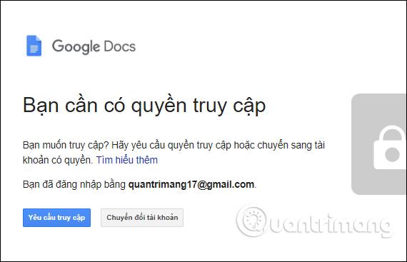 Cách hủy link chia sẻ Google Drive - Quantrimang com