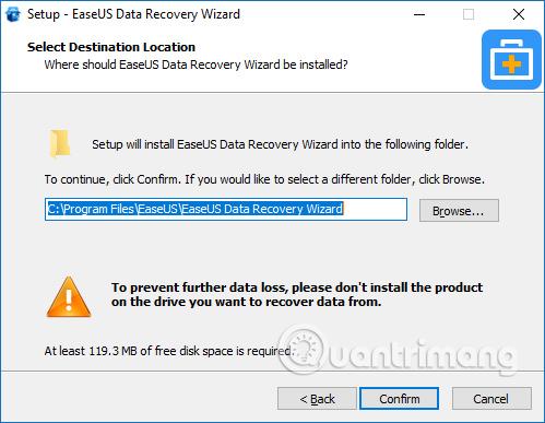 Cách khôi phục dữ liệu bằng Easeus Data Recovery Wizard