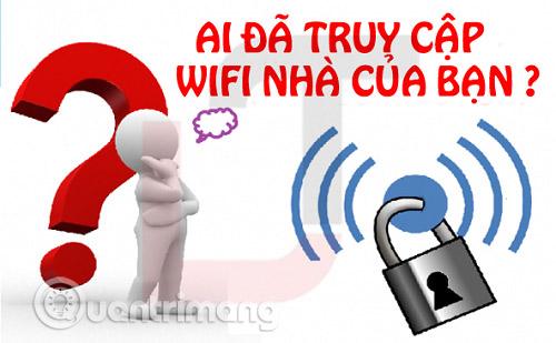 Ai đang dùng Wi-Fi?