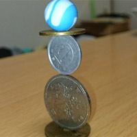 Những tác phẩm xếp hình đồng xu siêu tỉ mỉ khiến người xem không khỏi kinh ngạc