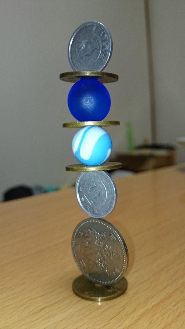 Những tác phẩm xếp hình đồng xu siêu tỉ mỉ 7