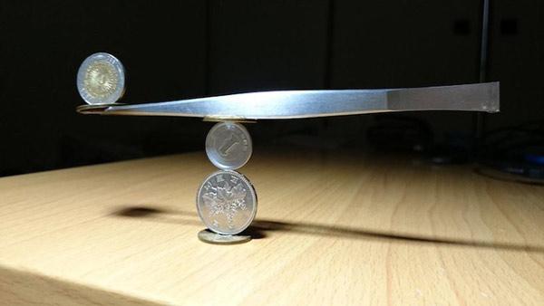 Những tác phẩm xếp hình đồng xu siêu tỉ mỉ 8