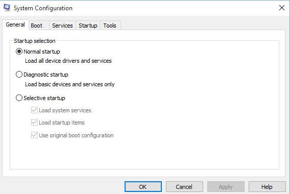 Khắc phục sự cố Windows với MSconfig - Ảnh minh hoạ 3