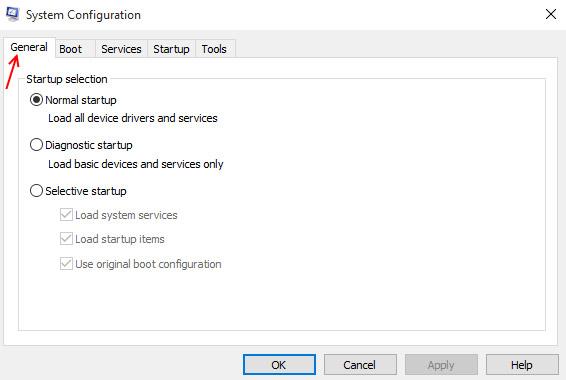 Khắc phục sự cố Windows với MSconfig - Ảnh minh hoạ 4