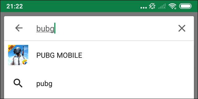 Tìm kiếm trên Google Play