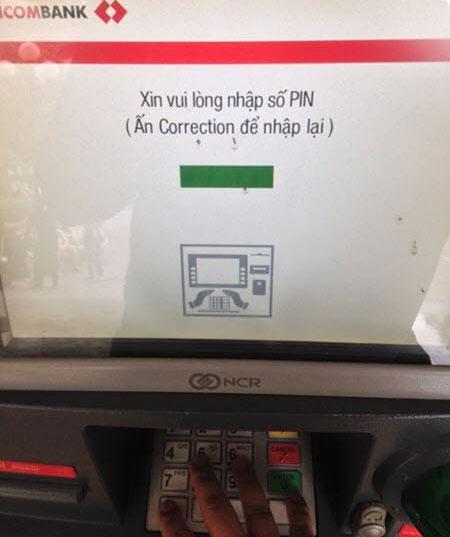 Cách đổi mã PIN, đổi mật khẩu thẻ ATM Techcombank