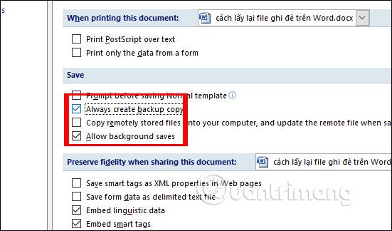 Cách lấy lại file Word bị ghi đè - Ảnh minh hoạ 3