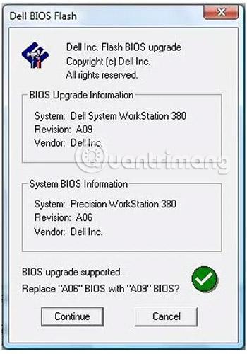 Công cụ cập nhập BIOS