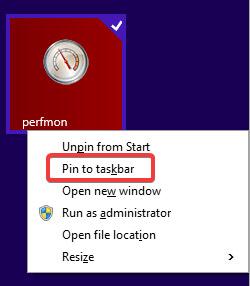 Chọn mục Pin this program to taskbar.