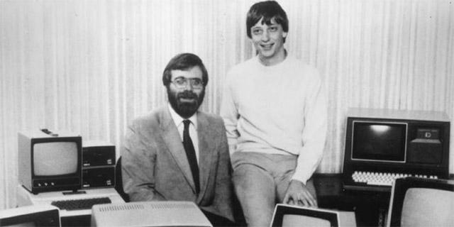 Gates cùng với cả người bạn trung học Paul Allen