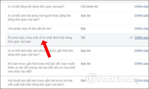 Cách ẩn bình luận trên Facebook bằng từ khóa - Ảnh minh hoạ 3