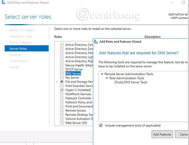 Hướng dẫn cài đặt và cấu hình DNS Server trên Windows Server
