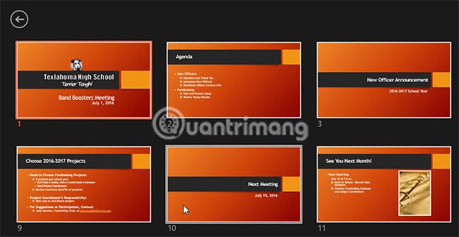 Trình bày slide show trong PowerPoint 2016 - Ảnh minh hoạ 11