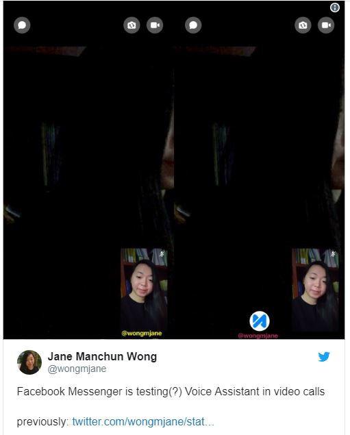 Wong phát hiện Facebook đang phát triển tính năng trợ lý ảo xuất hiện khi gọi video