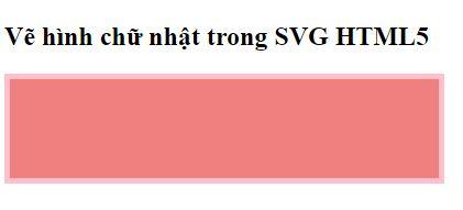 Hình chữ nhật SVG