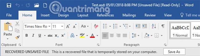 Phục hồi file Word chưa save, lấy lại file Word, Excel, PowerPoint chưa kịp lưu - Ảnh minh hoạ 12