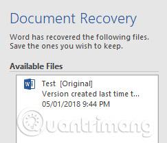 Phục hồi file Word chưa save, lấy lại file Word, Excel, PowerPoint chưa kịp lưu - Ảnh minh hoạ 14