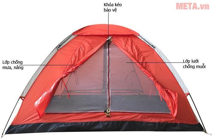Lều trại Tetragon 2P