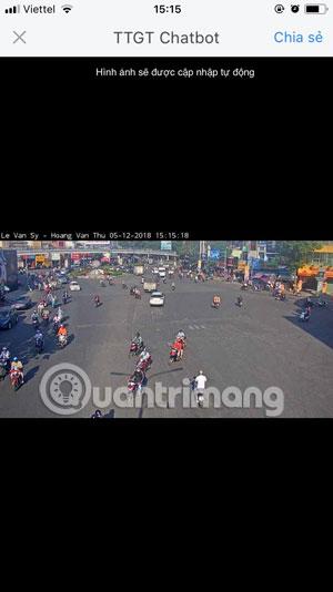 Camera Giao thông Lê Văn Sỹ- Hoàng Văn Thụ Zalo 2