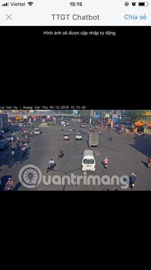 Camera Giao thông Lê Văn Sỹ- Hoàng Văn Thụ Zalo 1
