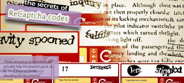 Sau 1 năm hoạt động, reCAPTCHA đã điện tử hóa thành công hơn 440 triệu từ