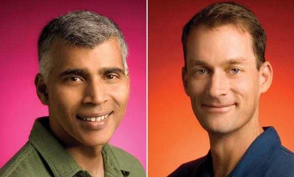 Sanjay Ghemawat và Jeff Dean