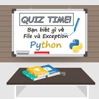 Bài kiểm tra trắc nghiệm về Python - Phần 3