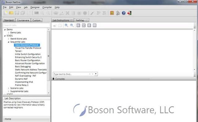 Boson NetSim 11 cho CCNA