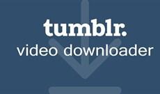 Cách tải video trên Tumblr
