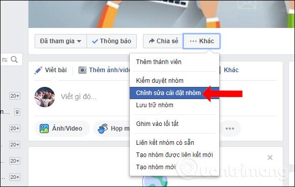 Cách thay đổi quyền riêng tư nhóm Facebook - Ảnh minh hoạ 3