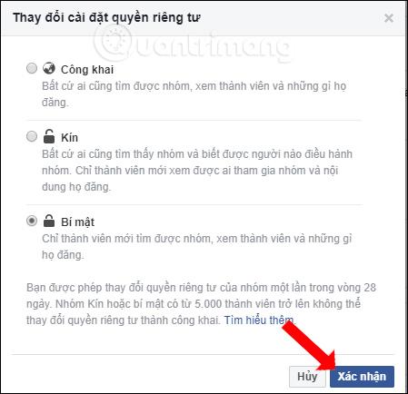 Cách thay đổi quyền riêng tư nhóm Facebook - Ảnh minh hoạ 5