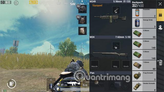 LMG vs Sniper Balo 3 PUBG Mobile