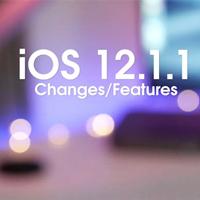 Apple chính thức ra mắt bản cập nhật iOS 12.1.1 kèm theo nhiều tính năng mới
