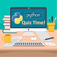 Bài kiểm tra trắc nghiệm về Python - Phần 5