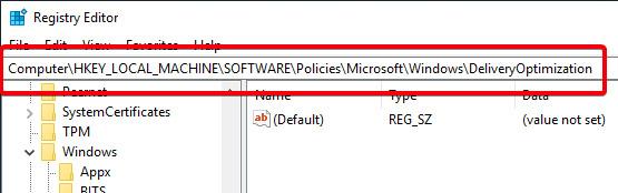 Nhấp chuột phải vào mục Windows, sau đó chọn New -> Key