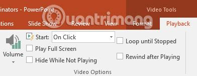 Tùy chọn video