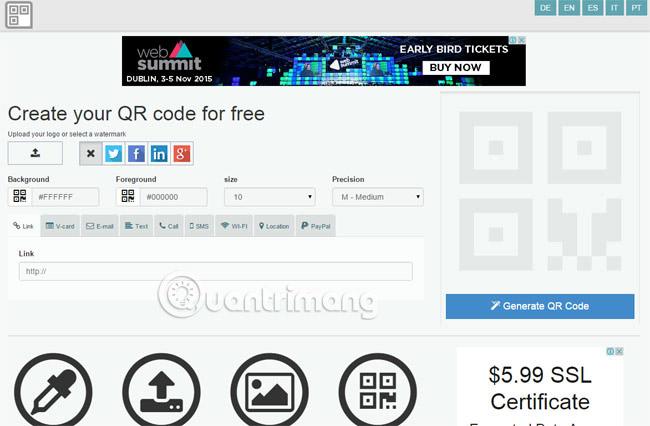 Các cách tạo mã QR trực tuyến - Ảnh minh hoạ 7