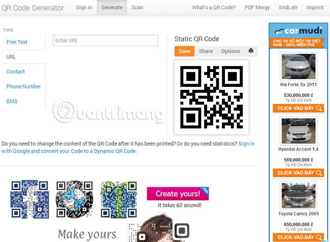 Các cách tạo mã QR trực tuyến - Ảnh minh hoạ 12