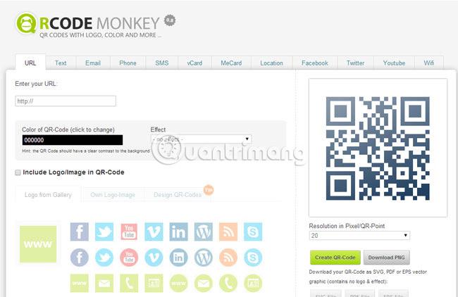 Các cách tạo mã QR trực tuyến - Ảnh minh hoạ 13