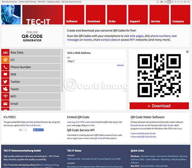 Các cách tạo mã QR trực tuyến - Ảnh minh hoạ 14