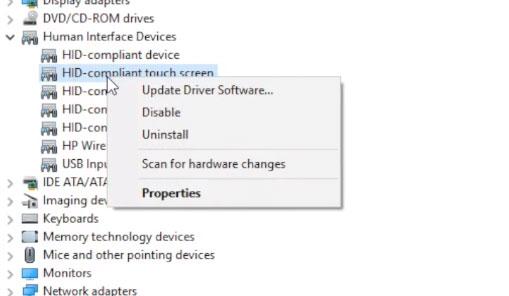 Hướng dẫn sửa lỗi màn hình cảm ứng trên Windows 10 - Ảnh minh hoạ 4
