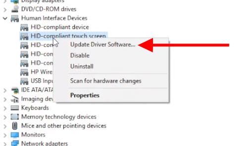Hướng dẫn sửa lỗi màn hình cảm ứng trên Windows 10 - Ảnh minh hoạ 8