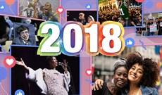Nhìn lại một năm trên Facebook qua video Year in Review 2018
