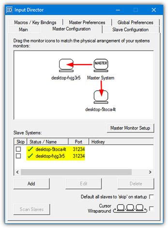 Kéo các biểu tượng và vị trí của màn hình thứ hai liên quan đến màn hình chính của hệ thống, trên, dưới, trái và phải đều được!