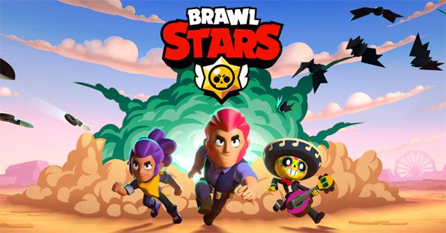 Brawl stars, một game bắn súng 3v3