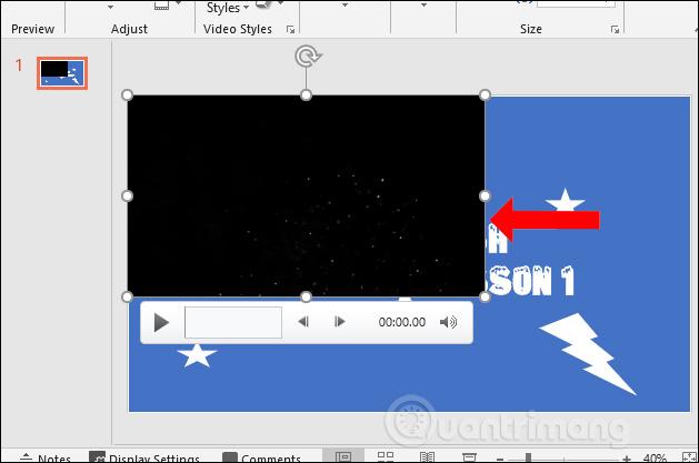 Kéo kích thước video