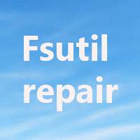 Lệnh Fsutil repair trong Windows