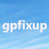 Lệnh gpfixup trong Windows